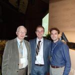 Professor Jean-Marie Lehn, Jeffrey Dick, and Kyle Klavetter at the June 2015 Lindau Nobel Laureates Conference.
