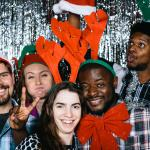 Bryan, Emily, Melissa, Niyi, and Ed at the Chemistry Holiday Party.