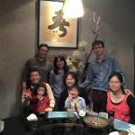 Yong-Mao and his family visiting with his brothers family and parents in Taiwan in March 2015.