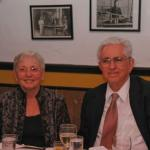 Ilana and Adam Heller during Adam's 80th Birthday Celebration in 2013. Dr. Heller is a major collaborator.